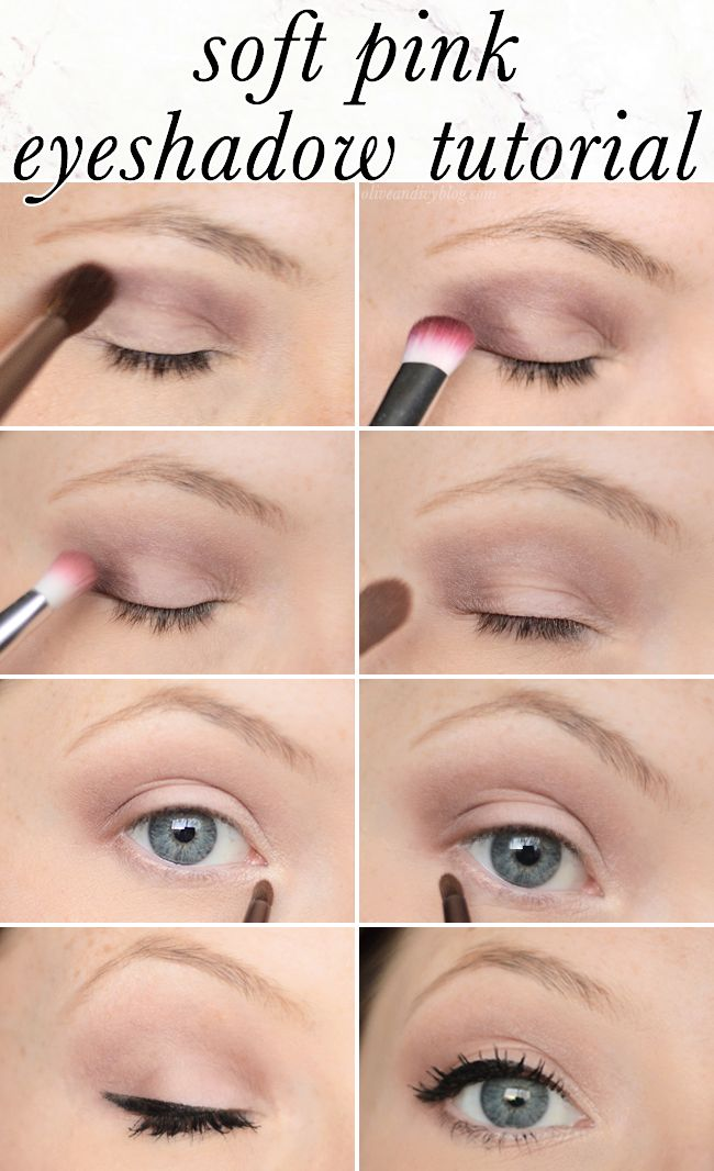 Eyeshadow Tutorial Videos: Gorgeous And Simple Soft Pink Eyeshadow Tutorial Using The