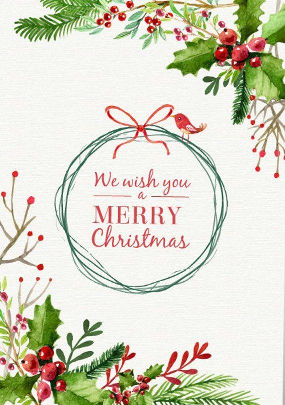 Custom Holiday Cards Christmas Holiday Greeting Cards