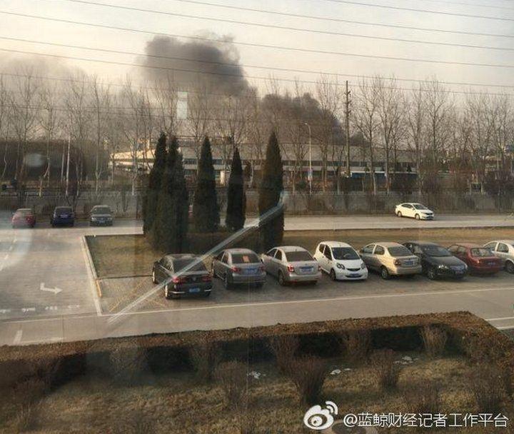 Baterías defectuosas fueron la causa de un incendio que se produjo hoy en una de las fábricas de Samsung en China