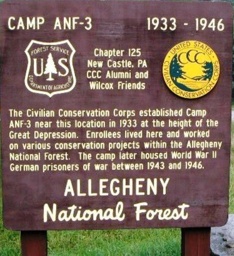 Camp ANF-3 (Red Bridge) - Allegheny National Forest - McKean County, Pennsylvania - Civilian Conservation Corps on Waymarking.com