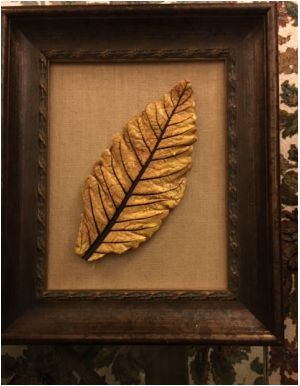 Leaf Wall Art 15 best handpainted cement leaf wall art images on pinterest