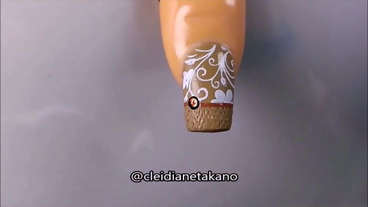 Unhas acolchoadas - Quilted Nails Tutorial