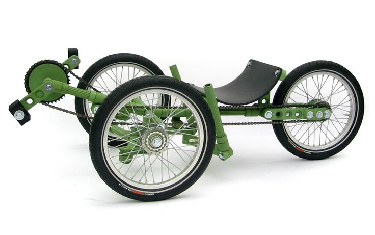 Construction Toy.   A toy concept with which children can build their own bikes, karts and other constructions.