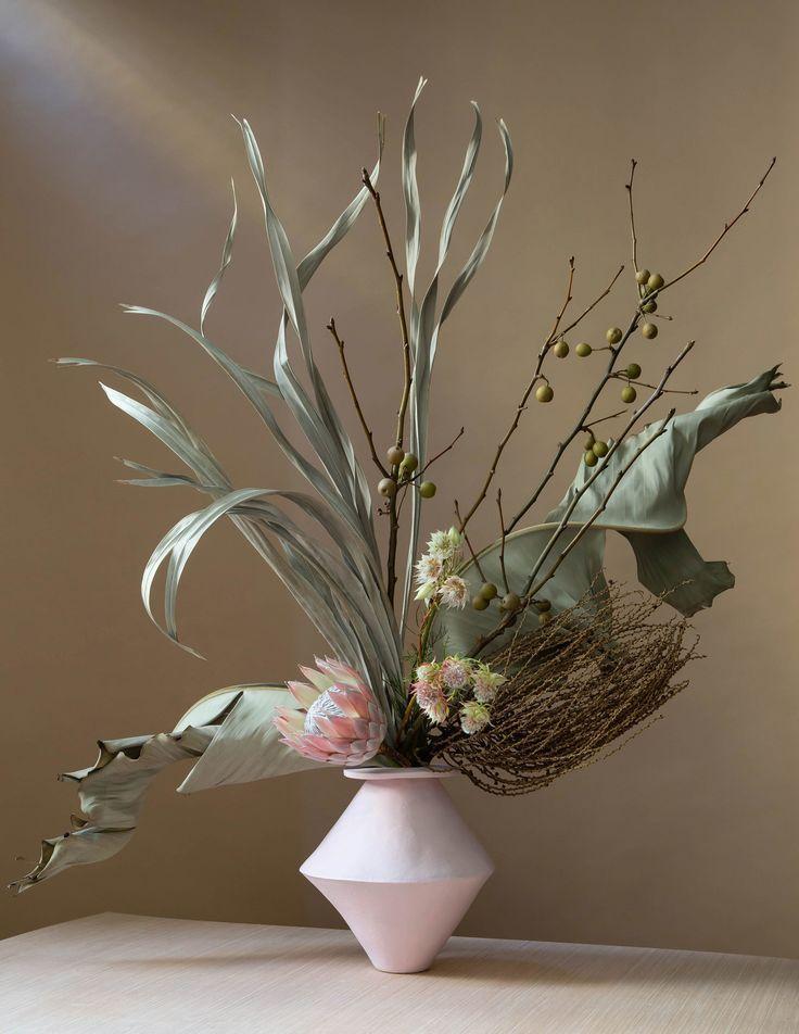7 dried flower arrangements to inspire your fall decorating loho rh pinterest com