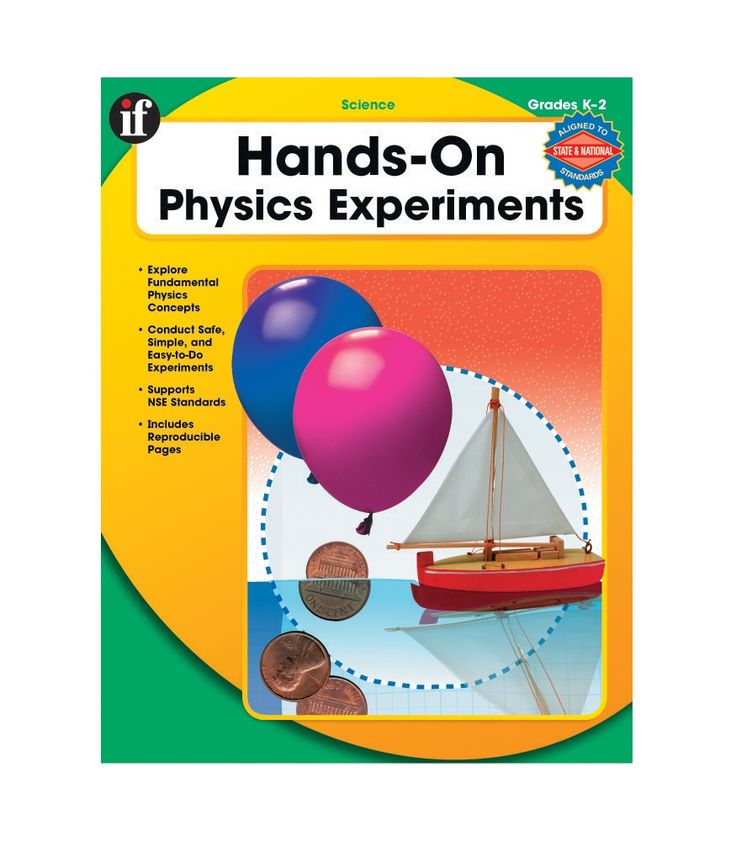 #CDWish13Create independent, scientific thinkers using Hands-On Physics Experiments! This book develops inquiry-based learning for students in grades K–2 through age-appropriate, hands-on experiments. It helps students explore important concepts in physics.