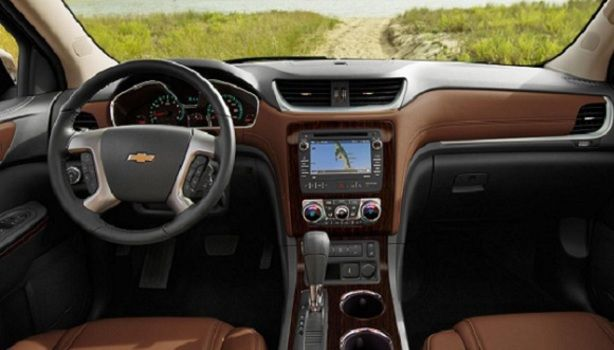 2017 Chevrolet Traverse - interior