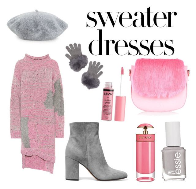 """""""Untitled #25"""" by gforfashion on Polyvore featuring 3.1 Phillip Lim, Gianvito Rossi, Helene Berman, JustFab, RHIÉ, Essie, Charlotte Russe and Prada"""