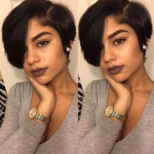 65 Best Short Hairstyles For Black Women In 2019 Short Hair Black Short Bob Hairstyles Hair Styles