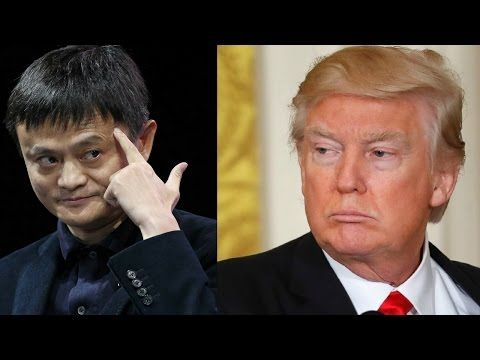 China's Top Billionaire explains what's wrong with Donald Trump's Populist rhetoric (2017) - YouTube