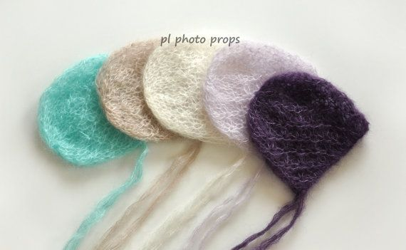 Newborn mohair bonnetskirt and trousersknitted by plphotoprops