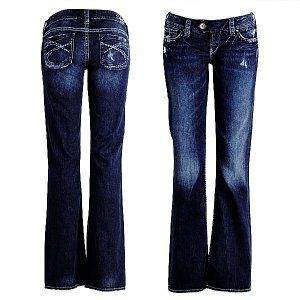 Silver Jeans. Once you go Silver...you always spend too much money on your jeans. Worth ever penny though.