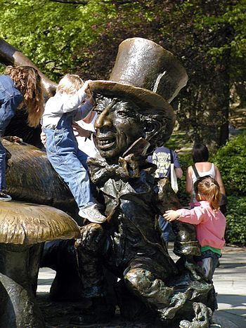 Who Knew Mad Hatters and Mad Hatters Disease Go hand in Hand?   Who Knew Mad Hatters and Mad Hatters Disease Go hand in Hand?  Mad Hatter part of Alice in Wonderland sculpture by Jose de Creeft (1959) Central Park NYC. Other title: Margaret Delacorte Memorial (Photo credit: Wikipedia) Who knew that Mad Hatters from Alice in Wonderland and Mad Hatter disease had something to do with each other in someway? Mad Hatters from Alice in Wonderland are these tall top hats with a curved inward shape…