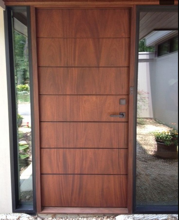 444 best door design images on pinterest door design for Plain main door designs