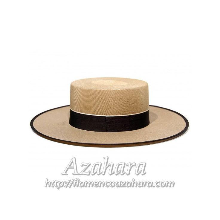 #Sombrero #dralón: ideal para los #trajesdecorto. Son #transpirables, cómodos y frescos para vestirlos.