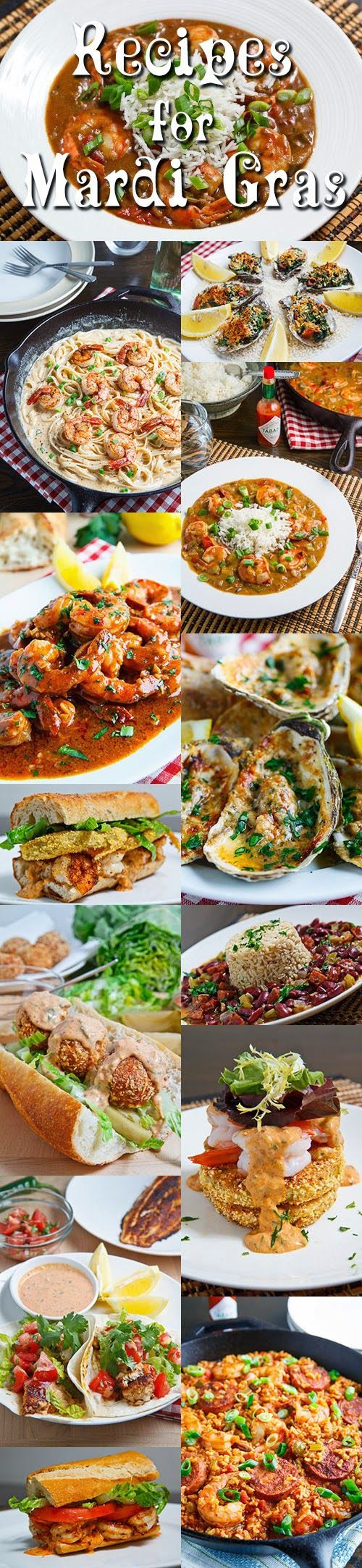 Recipes for Mardi Gras from Closet Cooking. Great New Orleans recipes.