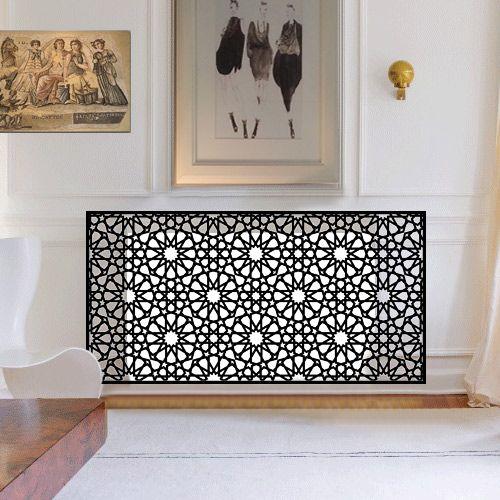 Persian and arabic radiator covers
