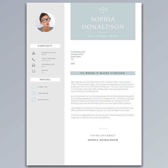 CV Template / CV Design - Dont underestimate the power of a professional CV Template / Resume Template!  At introDuice we create professional CV templates designed to help you make a stunning first impression and secure that dream career move.  It has been reported that recruiters / hiring managers spend on average less than 10 seconds reviewing a résumé / CV application, with this in mind we've spent a lot of time analysing employer trends to produce this professional CV template, a CV desig...