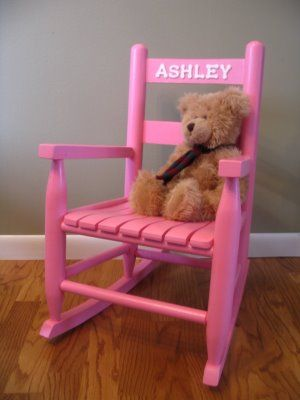 Personalized Toddler Rocking Chairs! Let Me Make One For The Little One In  Your Life
