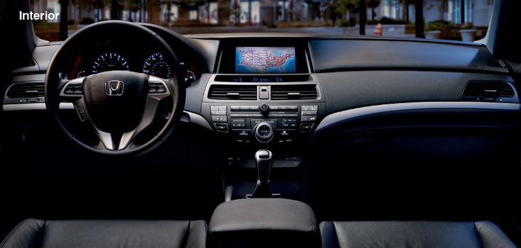 2012 Honda Accord Coupe - Interior Features - Official Honda Site
