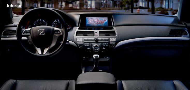 2012 Honda Accord Coupe - Interior Features - Official Honda Site