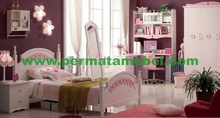 Set Kamar Tidur Anak | Set Kamar Anak Minimalis | Furniture Murah | Mebel Jepara