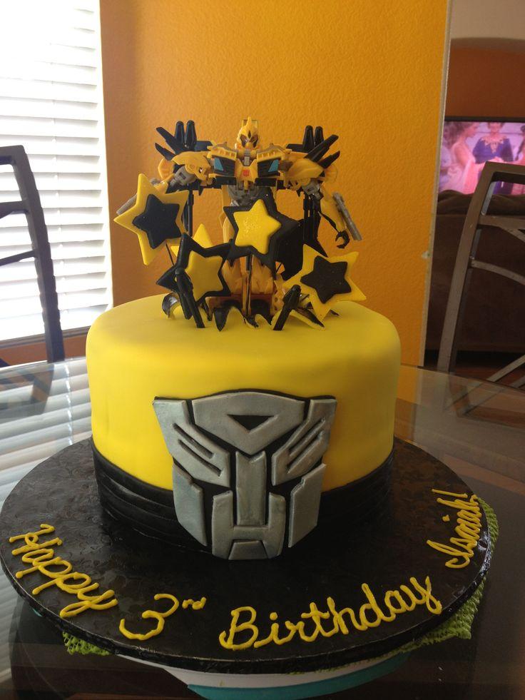 Transformer Birthday Cake Yaya S Sweets Pinterest