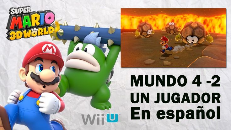 Super Mario 3D World Mundo 4 - 2 en español. Gameplay de Super Mario 3D World para Wii U, mundo 4 parte 2 en español. Visita mi sitio web: http://www.adverglitch.com