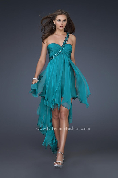 One Strap Homecoming Dresses