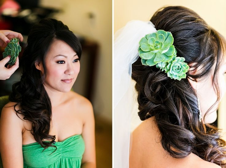 Pick The Best Ideas For Your Trendy Bridal Hairstyle: 191 Best Succulent Wedding Ideas Images On Pinterest