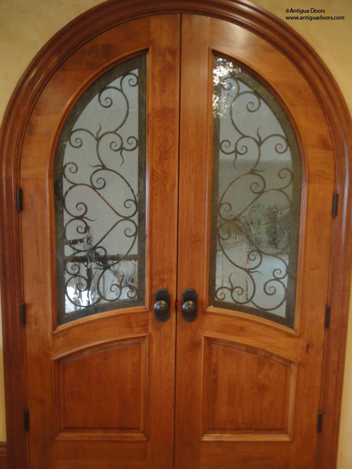 A Beautiful Pair Of Interior Clear Alder Doors Make For A Nice Master Pair  Doors.