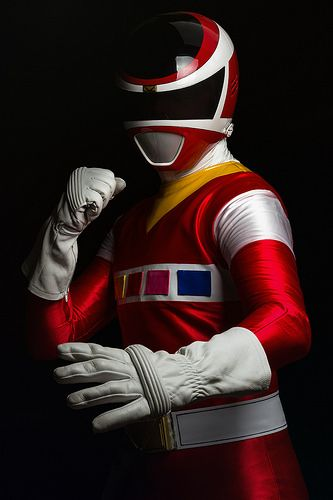 Mundo fotográfico — Red Space Ranger! - Power Rangers in Space...