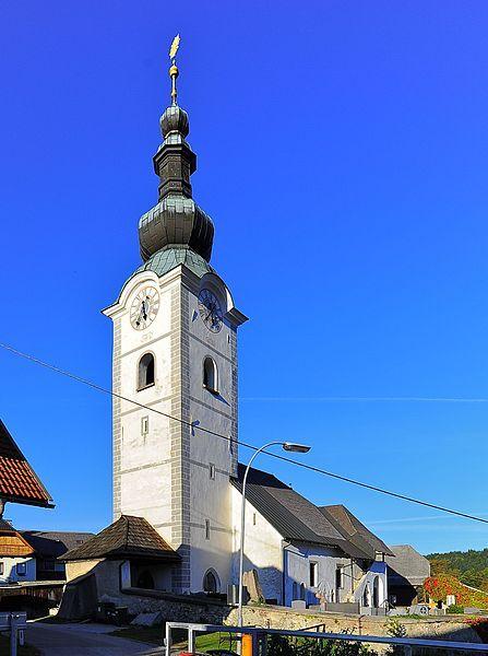 Finkenstein am Faaker See-St. Stefan, Kirche St. Stefan (Villach-Land) Kärnten AUT