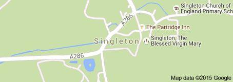 Map of singleton chichester