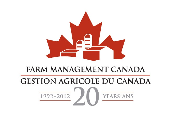 This logo design was developed for Farm Management Canada, to coincide with its recent name change and to celebrate their 20th anniversary achievement.  http://www.cyansolutions.com/work/services/corporate-identity #ottawa #marketingottawa #marketing #design #logo #logodesign #web #print