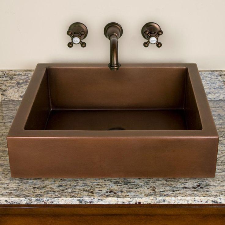 Axlewood Porcelain Semi-Recessed Sink - Semi-Recessed Sinks - Bathroom Sinks…