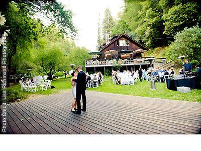 Venue: Laurel Mill Lodge  80-150 Indoor/Outdoor  $3200-$7900, one idea in the Santa Cruz Mountains. Just not sure it's big enough space.