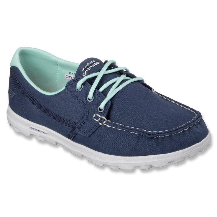 Skechers Go Clipper Womens Boat Shoes