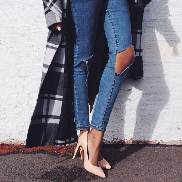 Find this Pin and more on Jeans. The Perfect Ripped Denim - 111 Best Images About Jeans On Pinterest