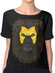 Golden Lion Women's Chiffon Top