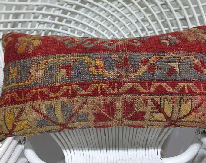 throw pillows sofa red carpet sham キリム lumbar pillow 12x24 pillow covers decorative pillows for couch bohemian pillow cushion 12x24 1181