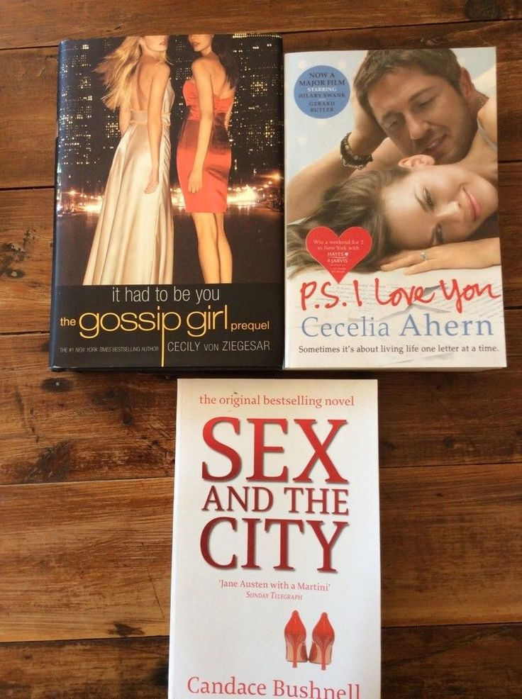 1 XGossip Girl It Had To Be You  1 X Ps I Love You 1 X Sex And The City books  | eBay
