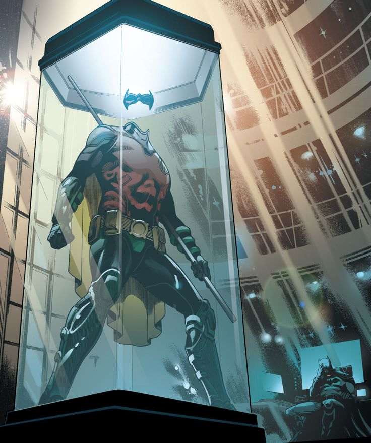 Timmmmmm please come back soon, I'm reading detective comics and just waiting for u. And please come back without any scratches, I will cannot handle if something happens to u
