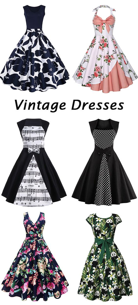 fashion trends 2017:Vintage Dresses
