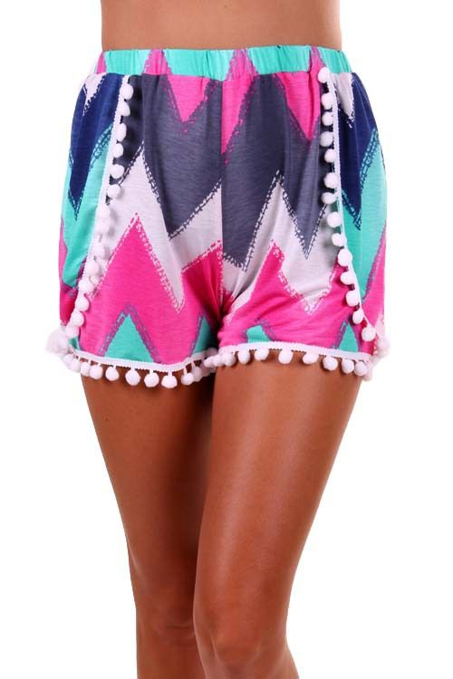 Sweet Southern Sass Boutique - CHEVRON SHORTS PINK, $24.00 (http://www.sweetsouthernsassboutique.net/chevron-shorts-pink/?page_context=category