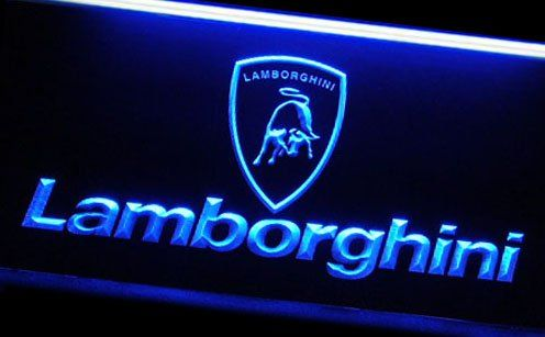 Pictures Of Lamborghinis Neon Lights Lambogihini Led
