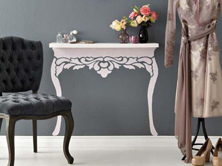 17 migliori idee su decorazioni tavolino su pinterest - Decorazioni in legno per mobili ...