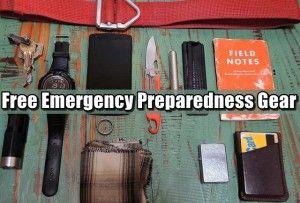 Free Emergency Preparedness Gear
