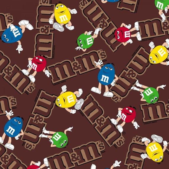 Mm chocolate cotton fabric bty by jinsqualityfabric on etsy