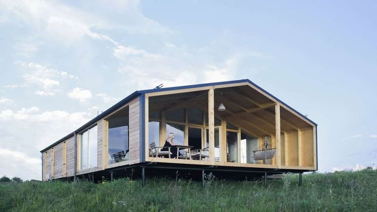 One of the coolest, most affordable prefab homes we know is the DublDom, a series of simple gabled modern cabins range from a tiny studio to a three-bedroom. now, after operating only in Russia for the most part, DublDom is taking pre-orders for the U.S.