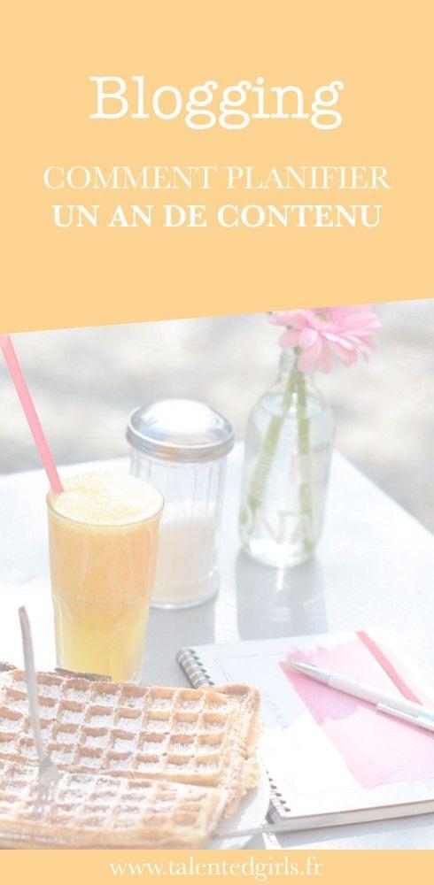 Découvrez mon astuce pour planifier un an de contenu pour son blog ⎟ Talented…